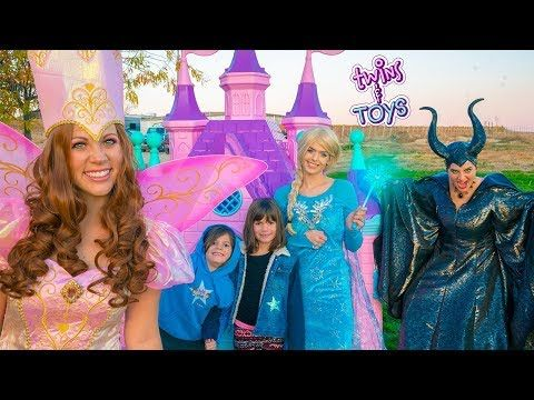 Fairy Godmother Saves Elsa Kate Lilly From Jail Youtube In