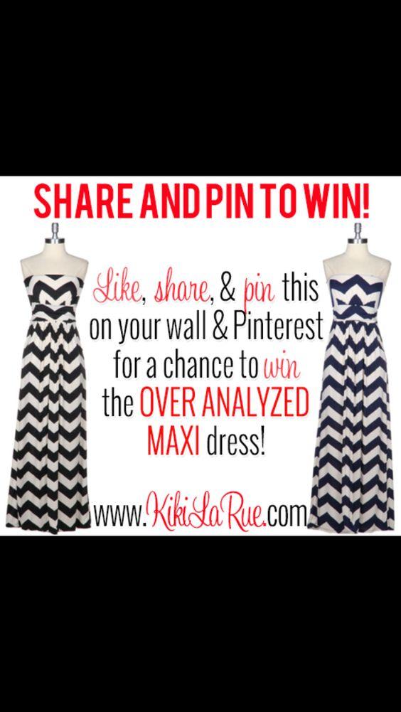 Overanalyzed Maxi Dress from Kiki La Rue. I love it