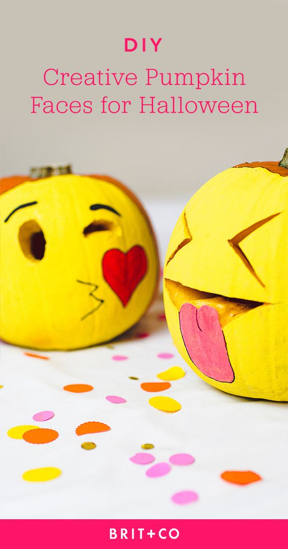 Save this to get pumpkin carving + decorating inspo from these creative faces.