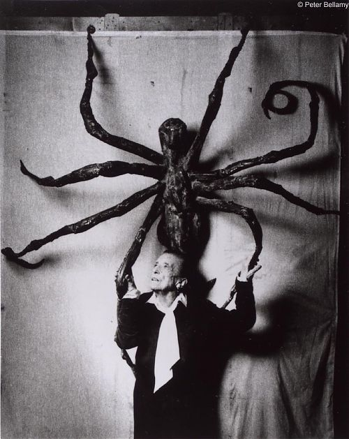 """My art is a form of psychoanalysis. I was able to exorcise my demons through art."" Louise Bourgeois"