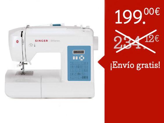 Máquina de coser Singer Brilliance 6160 de SHOPTY por DaWanda.com