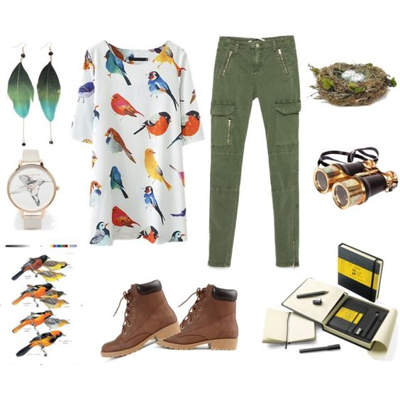 A fashion look from March 2015 featuring Zara pants and Olivia Burton watches. Browse and shop related looks.