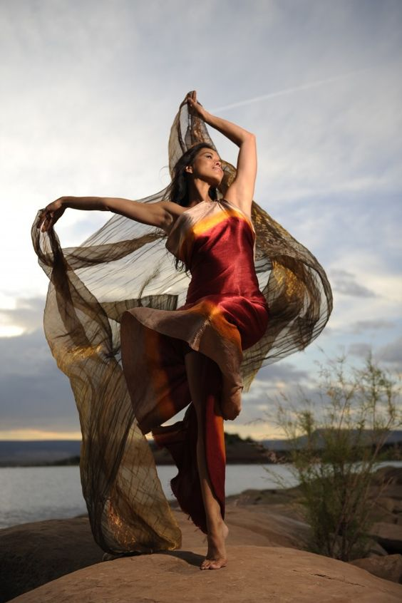 SFAI Visiting Artist: Rulan Tangen - 'Dancing Earth'