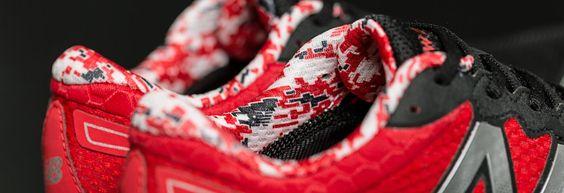 Fresh Foam Zante Team, Black with Red & White