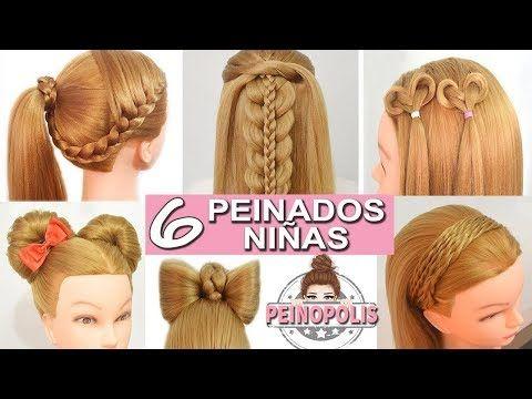 10 Semirecogidos Peinados Faciles Y Rapidos Con Trenzas Para Toda Ocasion Yo Ninos Con Cabello Largo Peinados Faciles Y Rapidos Peinados Faciles Pelo Corto