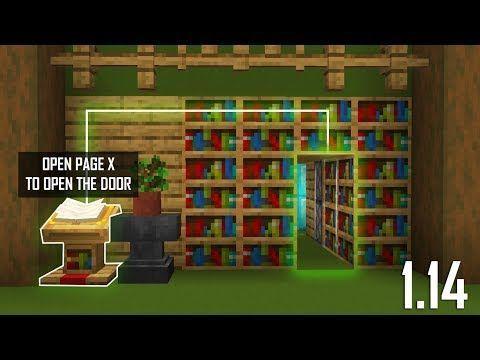 Cara Membuat Lectern Hidden Door Minecraft Indonesia 1 14 I Ve Been Participating In Numerous Vide In 2020 Minecraft Redstone Amazing Minecraft Minecraft Houses