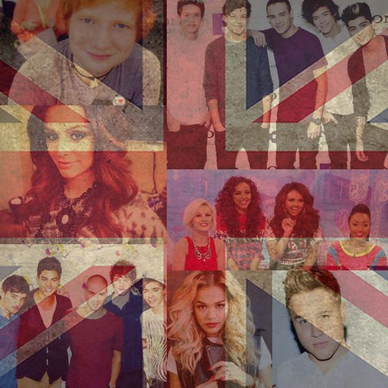 british artists, cher lloyd, ed sheeran, flag