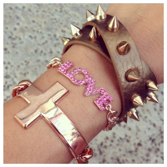 """""""Rose Gold Inspiration"""" Bracelet Set"""
