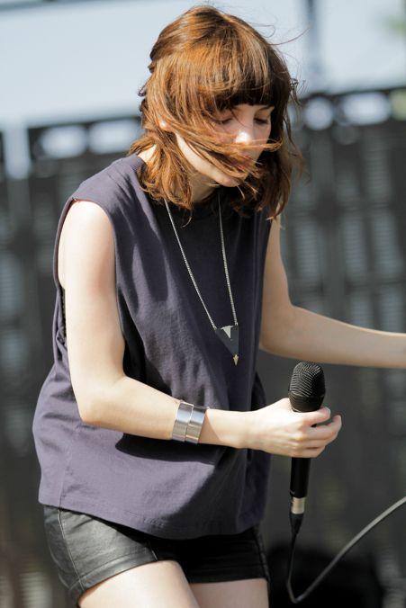 CHVRCHES' Lauren Mayberry @ Coachella 2014