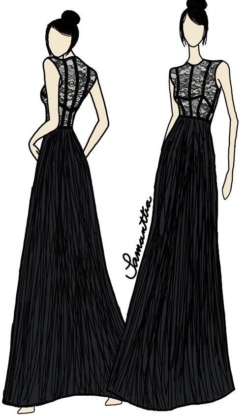 Fashion Design Sketches | Fashion design sketches | 108 : Image ...