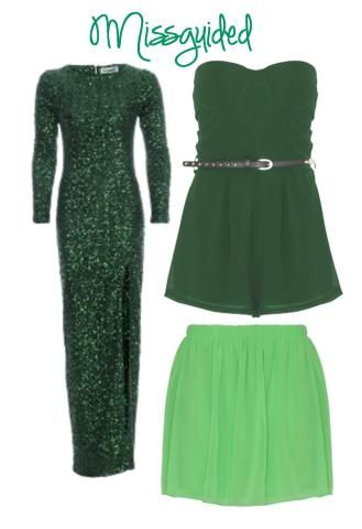 Green for all occasions #pantone #emerald #green