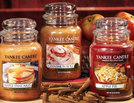 Two Of My Favourite Things Autumn Yankee Candles