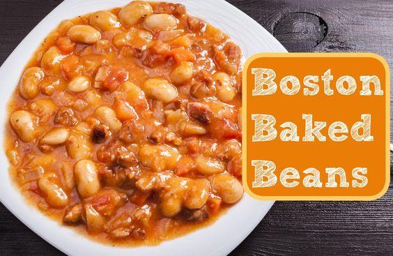 ... beans recipes new hampshire navy bean mustard baked beans dinner