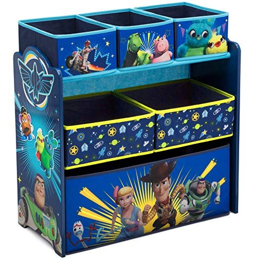 Your Little One S Toys Will Find Their Home In The Toy Story 4 Design And Store Toy Organizer By De Toy Storage Organization Toy Organization Toy Storage Boxes
