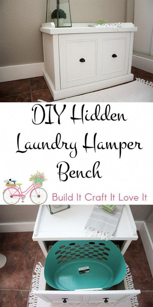 Diy Laundry Hamper Bench Laundry Hamper Woodworking Plans