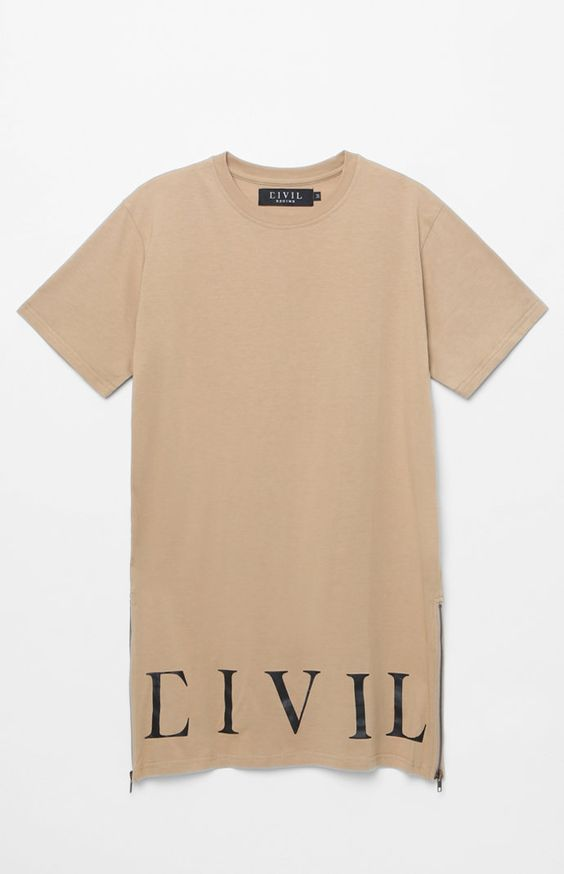 Regime Long Zip T-Shirt