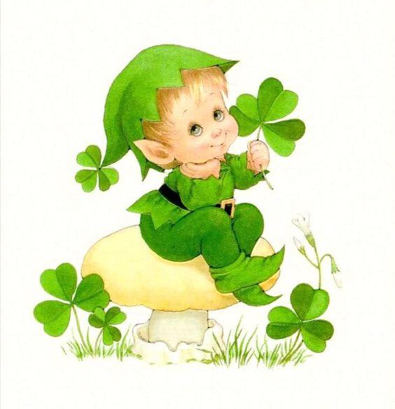 Cute Baby Leprechaun Luck Of The Irish Pinterest
