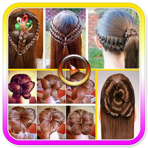 #App of the Day 09 July 2016 Girls Hair Styles Videos 2016 by DNN Apps http://www.designnominees.com/apps/girls-hair-styles-videos-2016
