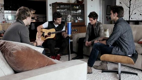 """Anthem Lights - """"Can't Get Over You"""" Acoustic Performance - This is the song that really captured me and made me fall in love with these guys."""