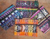 Upcycled Guatemalan Textile Change Purse. Handmade in Guatemala.