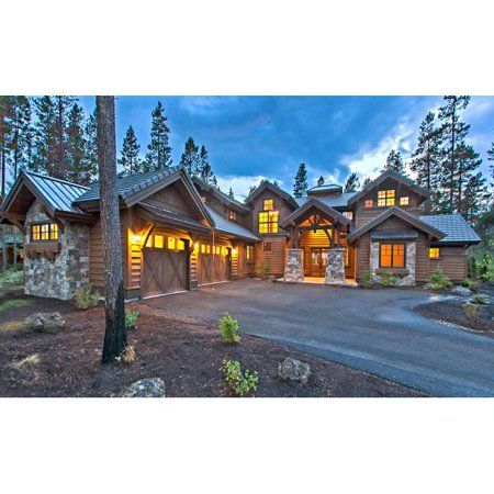 Thehousedesigners 9069 Construction Ready Luxury Mountain House
