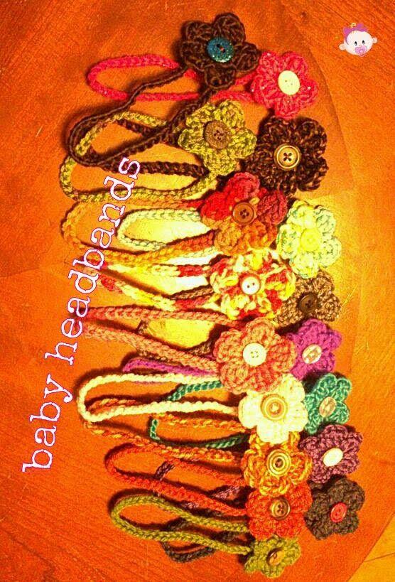 A plethora of baby headbands :)
