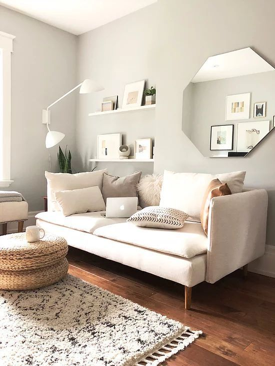 Our Ikea Soderhamn Makeover Comfort Works Sofa Covers Review Neatntiny Scandiboho Minimali Ikea Living Room Living Room Hacks Apartment Decorating Living