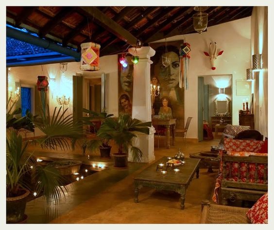 an indian summer: indian design and decor - love this interior, Hause ideen
