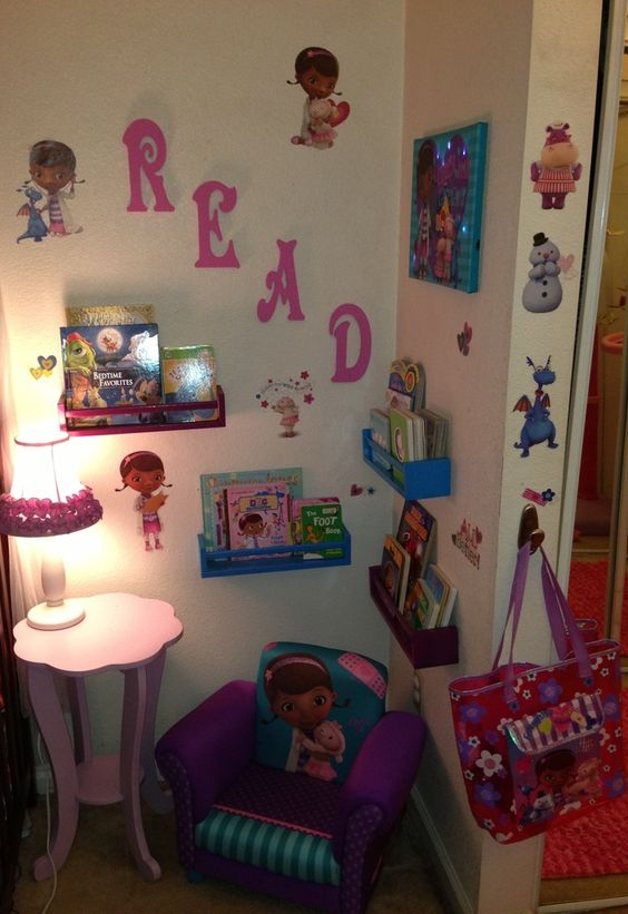 We Doc Mcstuffins And Children S Library On Pinterest