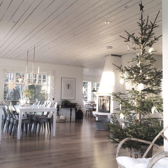 Julgran. Jul. Vardagsrum. | Apellebacken | Pinterest