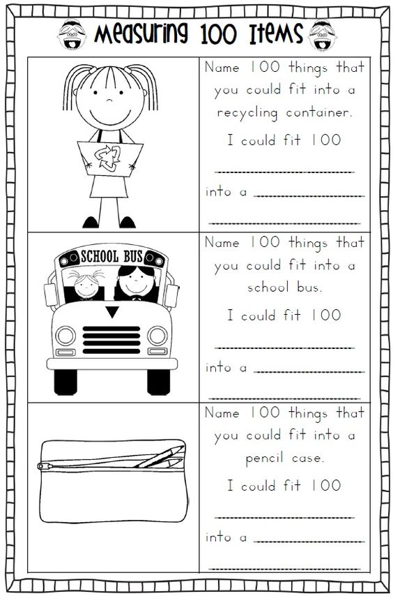 Worksheets 100th Day Of School Worksheets 100th day of school and worksheets on pinterest 100 days pdf file