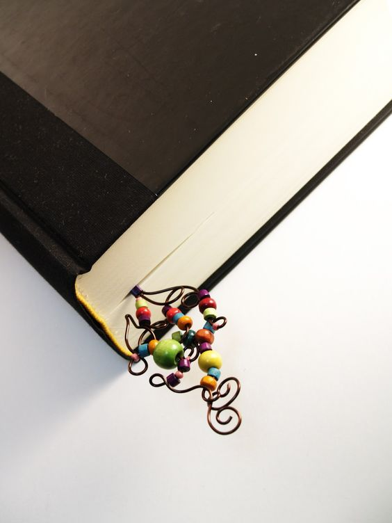 How fun is this bookmark?  We have everything we need.