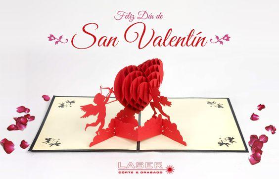 Laser Import: CORTE LASER Día de San Valentín