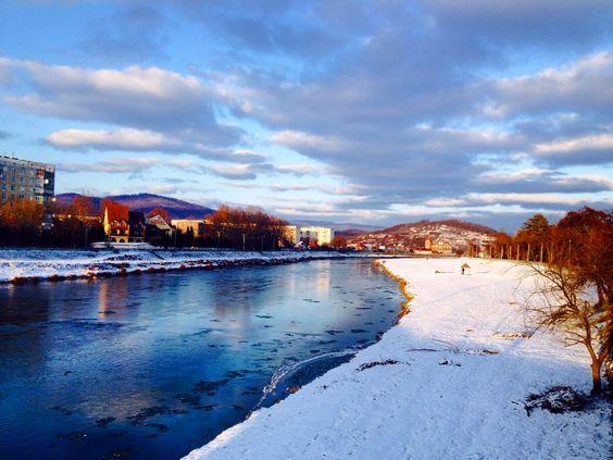 Mukacheve, Ukraine, winter, Transcarpathians