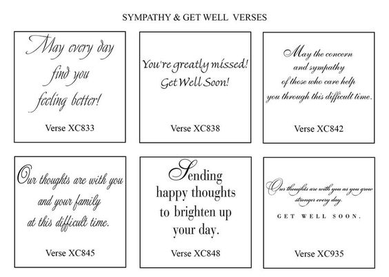 Get Well Scripture Quotes: Thinking Of You Verses