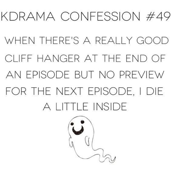 .@korean_dramas | Confession 49 | I hate waiting a week for an episode when the cliff hanger is... | Webstagram - the best Instagram viewer