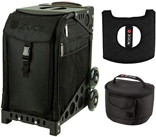 Chic Zuca Sport Bag Stealth With Gift Lunchbox And Seat Cover Black Plain Frame Winter Sports 171 Thetophitsseller From Top In 2020 Sport Bag Plain Frames Zuca