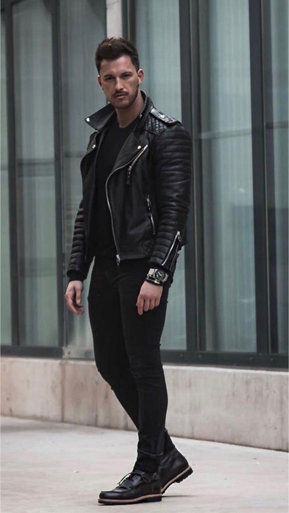 58 Best Winter Men Fashion with Urban Style Rockige Styles