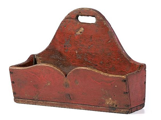 Lot:289: 19th Century Candle Box, Lot Number:289, Starting Bid:$350, Auctioneer:Cowan's Auctions, Inc., Auction:289: 19th Century Candle Box, Date:05:00 AM PT - Oct 9th, 2010