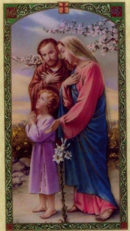 Resultado de imagen para consecrated to jesus and mary joseph