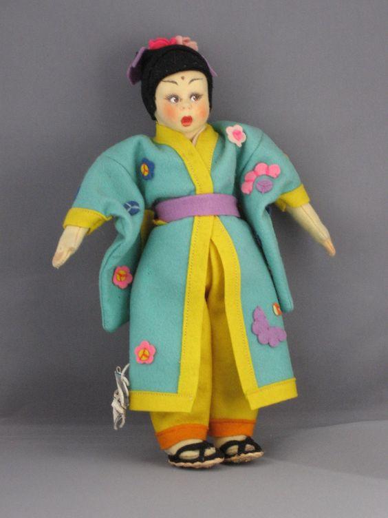 Lenci Japanese Girl