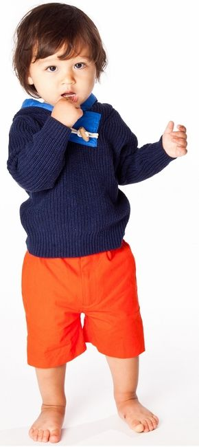 Fisherman Sweater | Egg by Susan Lazar, Spring/Summer 2014 Collection | www.egg-baby.com