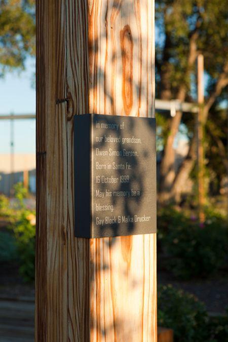 environmental graphics  santa fe railyard  pentagram