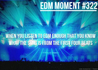 Hahaha I really can. #EDM