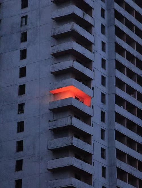 Lights Out Light Architecture Apartment Building Building