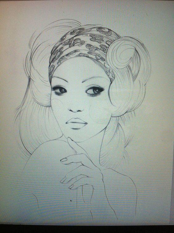 lovely illustration by Maria Vittoria Benatti