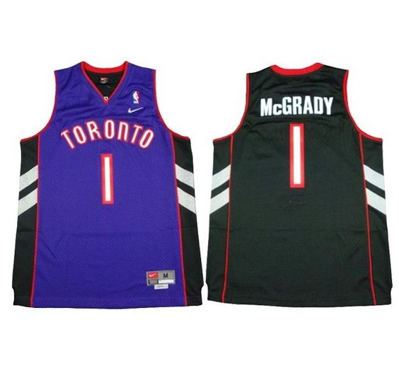 ... Toronto Raptors 1 Tracy McGrady Soul Swingman Purple Black Jersey  Toronto Raptors Pinterest Tracy mcgrady and ... f67179f36