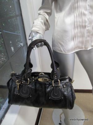 Chloe Patent Leather Paddington! | Fab Handbags! | Pinterest ...
