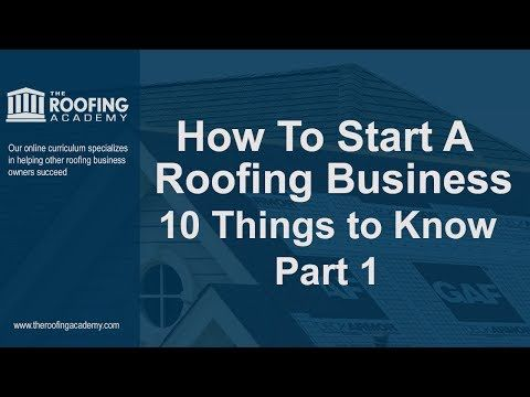 See This Collection Of Handpicked Resources From Some A Variety Of Sources To Bring You The Latest Information For Roofing Business Roofing Start Up Business