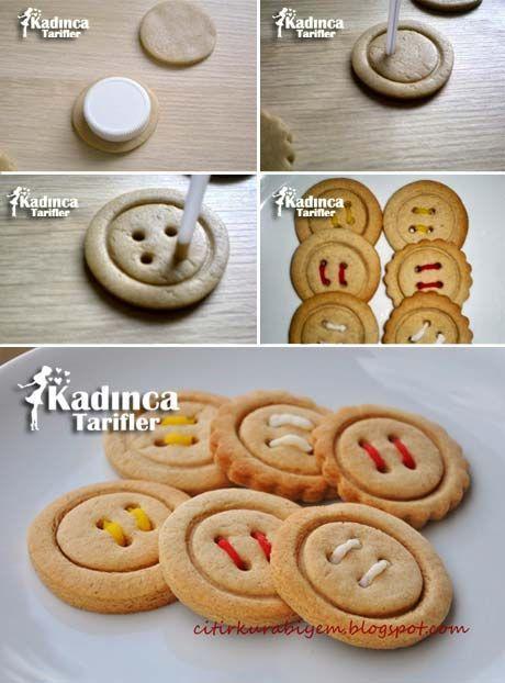 Button Cookie Rezept